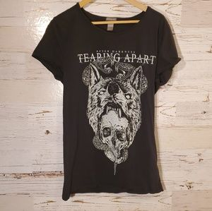 H&M After Darkness graphic tee
